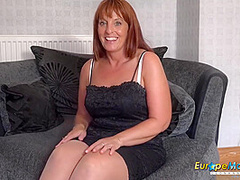 Hot Solo Milf Lady Toying Pussy Rubbing With Beau Diamonds And Lily May