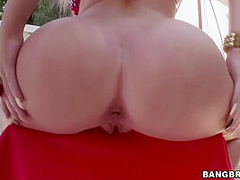 Alexis Ford In Rides Her Monstrous Gorgeous Ass With Dildo And His Tongue