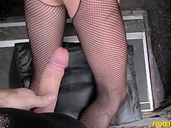 Vickie Powell In Busty Milf Makes Love With Cabbie For Cash