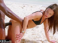 Steamy Skinny Wife Cheats With Bbc On Vacation - Alyssa Reece And Joss Lescaf