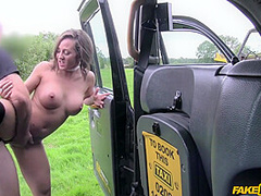 Betty Foxxx In Busty Spanish Slut Gets Fucked By The Cab