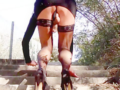 Flashing in the stairs