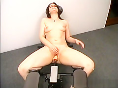 Incredible pornstar in hottest dildos/toys, solo girl sex clip