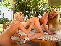 Crazy pornstars Shay Sweet and Nicole Sheridan in hottest squirting, blonde sex video