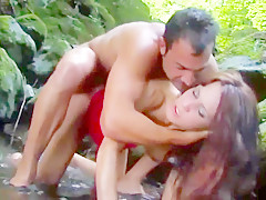 Hot sex with a tourist in forest