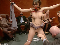 Sasha Yung - The Almost Virgin - PublicDisgrace