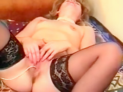 Crazy homemade Stockings, Mature xxx clip