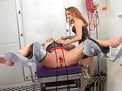 Crazy pornstars Amber Michaels and Mistress Gemini in hottest redhead, dildos/toys sex movie