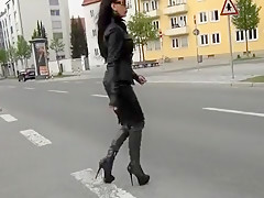 Crazy homemade High Heels, Fetish porn clip