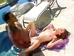 Amazing pornstar in fabulous outdoor, brunette adult movie