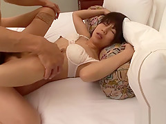 Horny Japanese girl in Best 69, Facial JAV movie