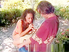 Exotic pornstar in crazy facial, outdoor sex video