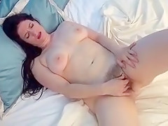 Horny amateur Big Tits, Solo Girl porn scene