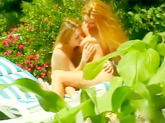 Best pornstars Ray Veness and Goldie McHawn in incredible vintage, outdoor sex clip