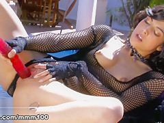 Lou Charmelle in Lou Charmelle Stripping - MMM100