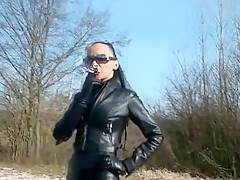 Exotic homemade Outdoor, Smoking xxx video