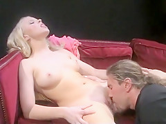 Exotic pornstars Fallon Sommers and Amber Rain in hottest blonde, public sex clip