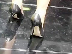 Horny homemade Solo Girl, High Heels adult movie