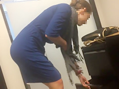 Tight  athletic coworker candid ass (part 2)