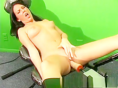 Fabulous pornstar Destiny St. Claire in exotic masturbation, brunette adult video
