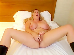 Amazing pornstar in hottest bbw, blonde sex movie