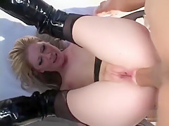 Exotic pornstar Michelle B. in amazing outdoor, anal adult scene