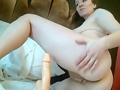 Hottest amateur Big Tits, Brunette sex movie