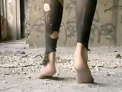 Crazy homemade Outdoor, Foot Fetish adult clip