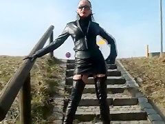Exotic homemade High Heels, Outdoor xxx clip