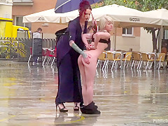 Eager Bitch Spanked And Flogged In The Rain - Part 1 - PublicDisgrace