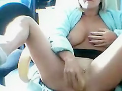 Horny homemade Blonde, Big Tits porn movie