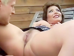Horny Outdoor, Natural Tits sex movie
