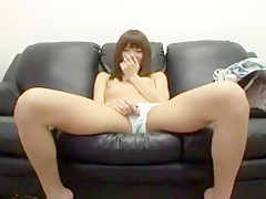 Hottest Japanese slut Risa Chigasaki in Amazing Close-up, Threesomes JAV scene