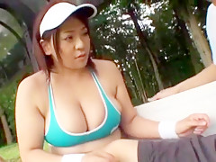 Hottest Japanese chick in Amazing Outdoor JAV scene