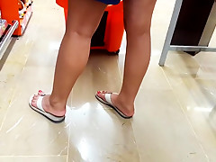 Mature fr yummy feets sexy red toes