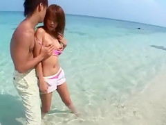 Best Japanese chick Rino Konno in Hottest Public, Blowjob JAV movie