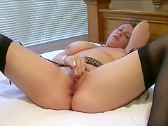 Fabulous amateur Stockings, Big Tits xxx movie