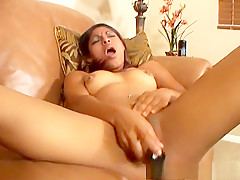 Incredible pornstar Baby Doll in hottest masturbation, brunette xxx video