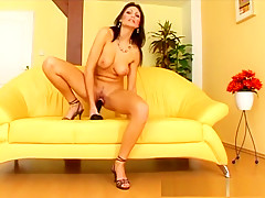 Exotic pornstar Jennifer Max in hottest solo girl, anal porn movie