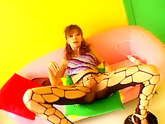 Exotic Japanese slut Akane Hotaru in Amazing DP, Close-up JAV scene