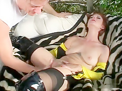 Exotic pornstar Vivica Vengeance in incredible outdoor, anal adult scene