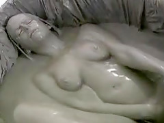 Crazy homemade Masturbation, Brunette adult video