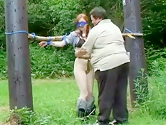 Hottest BDSM, Outdoor sex clip
