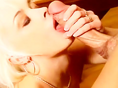 Nasty Blond Whore Gets Anally Banged