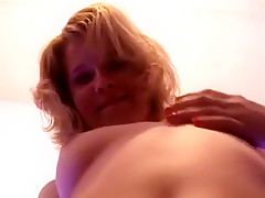Hot Girl Gets Fucked In The Floor With Great Tits