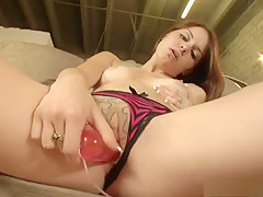 Best pornstar Michelle Peters in fabulous brunette, masturbation xxx clip