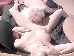 Big Breasted Girls Share Freaky Fuckfest