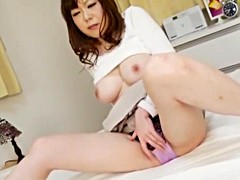 Horny Japanese model Maki Amemiya, Minako Uchida, Imai Natsumi in Amazing Big Tits JAV movie