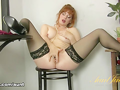 Amber Dawn in Masturbation Movie - AuntJudys