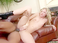 Hardass Billy Banks Dicks White Slut  Leah Luv